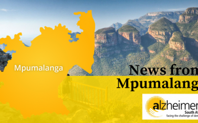 News from Alzheimer's SA – Mpumalanga