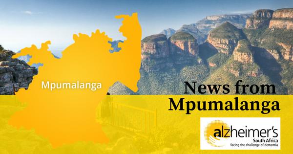 News from Alzheimer's SA – Mpumalanga