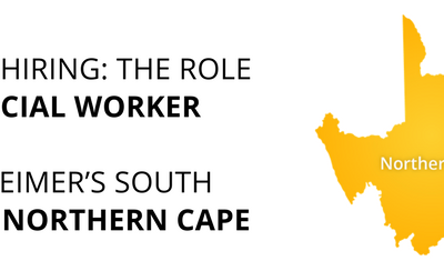 We are hiring – Social Worker, Northern Cape