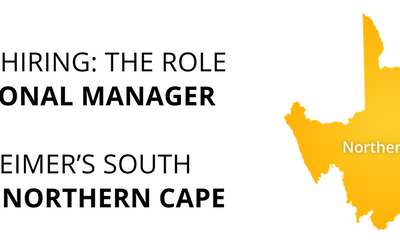 We are hiring – Regional Manager, Northern Cape